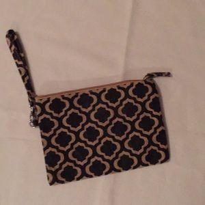 Handbags - Burlap Wristlets